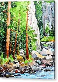 Poudre Canyon Beauty Acrylic Print