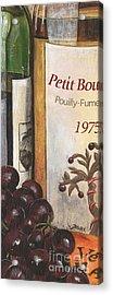Pouilly Fume 1975 Acrylic Print by Debbie DeWitt