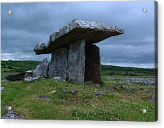 Acrylic Print featuring the photograph Poulnabrone Dolmen 1 by Ken Dietz