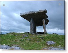 Acrylic Print featuring the photograph Poulnabrone Dolmen 2 by Ken Dietz