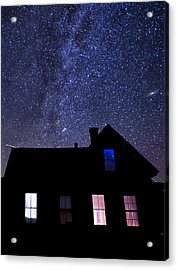 Pour In The Light Acrylic Print by Cat Connor