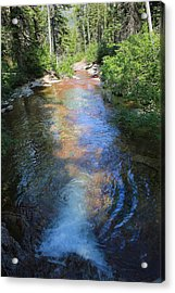 Pouring Into Morning Light Acrylic Print by Kathleen Scanlan