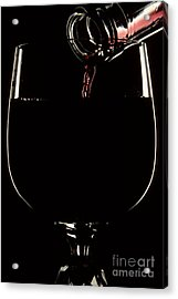 Pouring Wine Acrylic Print by Cyril Furlan