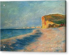 Pourville Near Dieppe Acrylic Print by Claude Monet