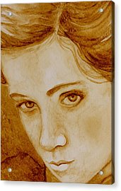 Pout Acrylic Print by Julee Nicklaus