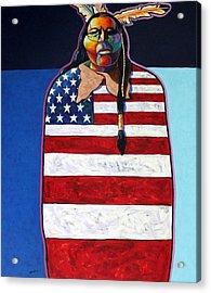 Poverty Still Cracks The Whip Acrylic Print by Joe  Triano