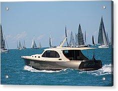 Power And Sail Acrylic Print