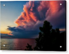 Power Cloud Acrylic Print