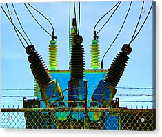 Electrical Wires Acrylic Print