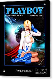 Power Girl 2085 Acrylic Print
