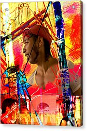 Power Of Cuba 1 Acrylic Print
