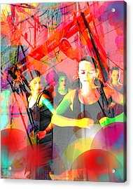 Power Of Cuba   Flamenco Acrylic Print