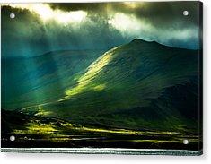 Power Of Light Acrylic Print by Greg Wyatt
