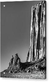 Power Of Stone Acrylic Print by Bob Christopher