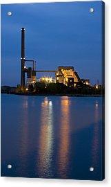 Power Plant Acrylic Print by Adam Romanowicz