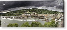 Power Plant At Willamette Falls Lock Acrylic Print