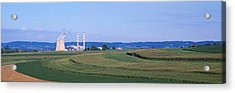 Power Plant Energy Acrylic Print