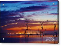 Power Plant On The Rise Acrylic Print