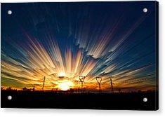 Power Source Acrylic Print by Matt Molloy