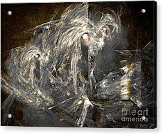 Acrylic Print featuring the painting Light Energy Power Station by Alexa Szlavics