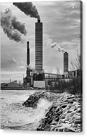 Acrylic Print featuring the photograph Power Station by Ricky L Jones