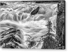 Power Stream Acrylic Print by Jon Glaser