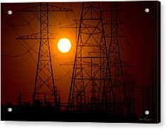 Acrylic Print featuring the photograph Power by Travis Burgess