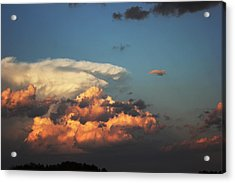 Powerful Cloud Acrylic Print by Ryan Crouse