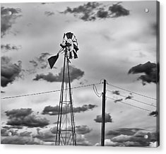 Powerless Acrylic Print by Alan Tonnesen