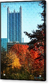 Acrylic Print featuring the photograph Ppg In Autumn by Joe Winkler