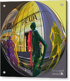 Prada Acrylic Print