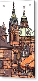 Prague 1 Acrylic Print by Phil Robinson