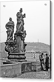 Prague Acrylic Print by Alison Tomich