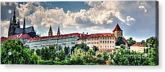 Acrylic Print featuring the photograph Prague Castle by Joe  Ng