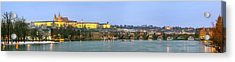 Prague Castle Prask Hrad And Charles Acrylic Print by Panoramic Images