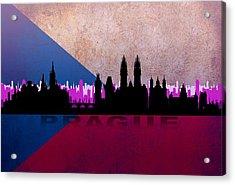Prague City Acrylic Print