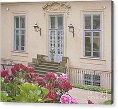 Prague Gardens Acrylic Print