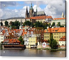Acrylic Print featuring the photograph Prague Skyline by Ira Shander