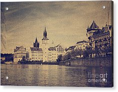 Prague Acrylic Print by Jelena Jovanovic