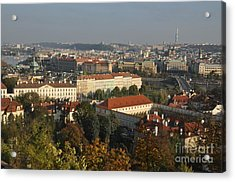 Prague Landscape Czech Republic Acrylic Print