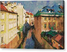 Prague Like Venice 2 Acrylic Print