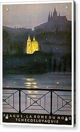Prague Acrylic Print by Georgia Fowler