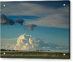 Prairie Evening Acrylic Print