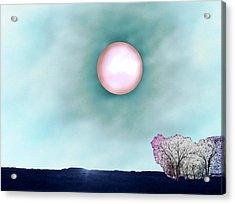 Prairie Moon Acrylic Print