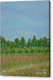 Prairie Morning Light Acrylic Print