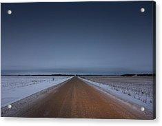 Prairie Road Acrylic Print by Bryan Scott