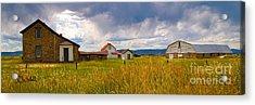 Wyoming Prairie Scene Acrylic Print