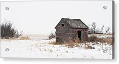 Prairie Silence... Acrylic Print by Nina Stavlund