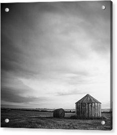 Prairie Silo Acrylic Print