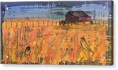Prairie Song Acrylic Print by Carolyn Doe